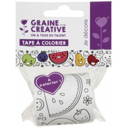 FRUITS COLORING TAPE 46mmx5m