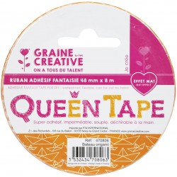 QUEEN TAPE ORIGAMI BOAT 48mm x8m