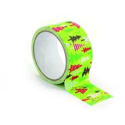 Queen tape 48mm x 8m - Christmas trees