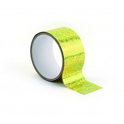Queen tape 48mm x 8m - Holographic gold