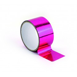Queen tape 48mm x 8m - Holographic pink