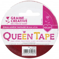 QUEEN TAPE RED 48mm x8m