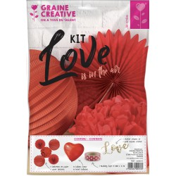 LOVE IS IN THE AIR PARTY KIT