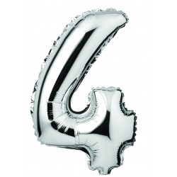 Balloon 410mm silver - 4
