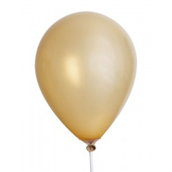 Balloons 30cm - Gold metal (10 pcs)