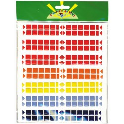 PK 960 ADHESIVE EPOXY- 10 ASSTD MOSAIC COLOURS (AS ABOVE) EXCLUDING METALLICS