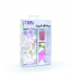 Gift box and accessories 140mm x 190mm - Floral (6 pcs)