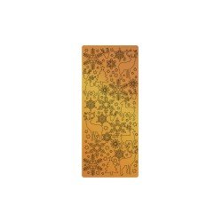 Peel off's stickers 105mm x 232mm - Christmas snowflakes copper