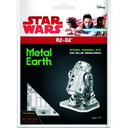 Maquette 3D metal - Star Wars R2-D2