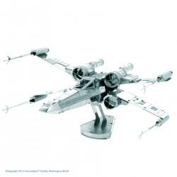 Maquette 3D metal - Star Wars X-Wing Starfighter