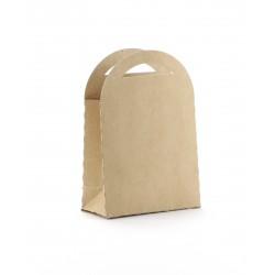Gift boxes 70mm x 100mm - Kraft (6 pcs