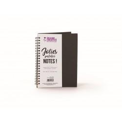 Black notebook 130mm x 180mm - Kraft paper