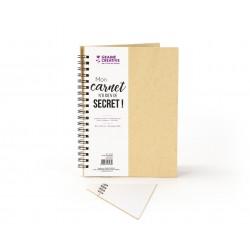 Kraft notebook 180mm x 240mm - White paper