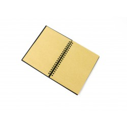 Black notebook 180mm x 240mm - Kraft paper