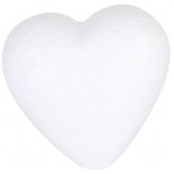PACK OF 25 STYROFOAM HEART . HT 90