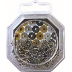 34GRS GOLD BLACK GREY PINS COLOR DOME  22mm (250PCS)