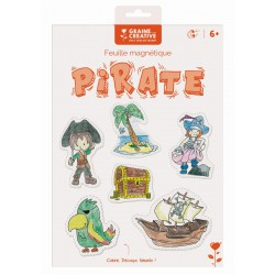 PIRATE MAGNETIC SHEET
