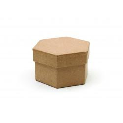 HEXAGONAL CARDBOARD BOX  90X80HT50