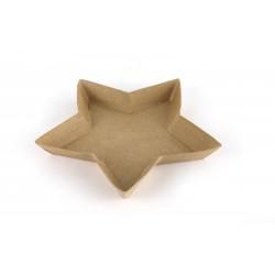 Cup in cardboard 255mm x 255mm x 30mm - Star