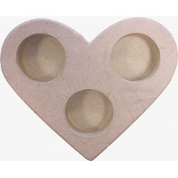 CANDLE HOLDER- HART 130 X 150 X 25