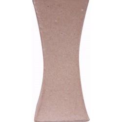 Cardboard vase square 123mm x 56mm x 56mm