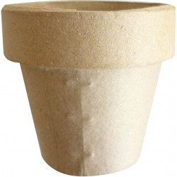 Cardboard flower pot 90mm x Ø 95mm