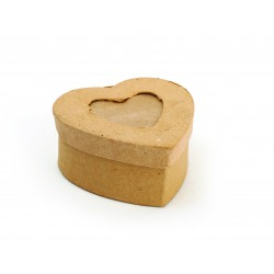 HEART SHAPED CARDBOARD BOX FOR PICTURES