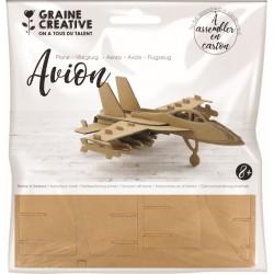 Cardboard model 3D 165mm x 175mm x 60mm - Plane