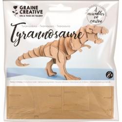 Cardboard model 3D 200mm x 100mm x 70mm - Tyrannosaurus