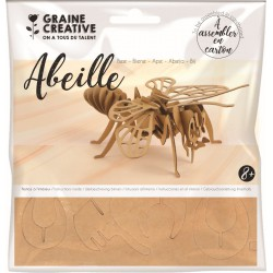 Cardboard model 3D 230mm x 90mm x 230mm - Honeybee