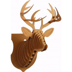 Cardboard model 3D big 245mm x 180mm x 390mm - Reindeer