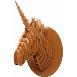 Cardboard model 3D big 260mm x 200mm x 400mm - Unicorn