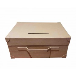 SET OF 2 SUITCASES COLLECTION BOX 350x250x150 mm
