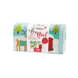 Cardboard mailbox - The Santa Claus mailbox