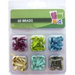 Brads 11mm - Ocean (60 pcs)
