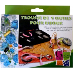 SET 9 TOOLS FOR JEWELRY 120x160mm