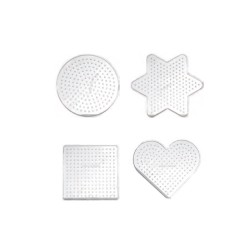 Set of small pegboards ass (4 pcs)