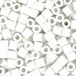 Iron beads - White (1000 pcs)