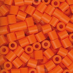 Iron beads - Orange (1000 pcs)