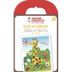 Kit design your own felt picture 175mm x 180mm - Giraffe