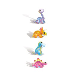 Kit mosaic card animals 3D - Dino (4 pcs)