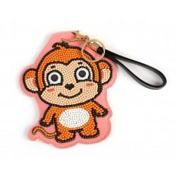 Kit diamond dots tag - Monkey