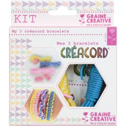 KIT CREACORD RAINBOW 110x130mm