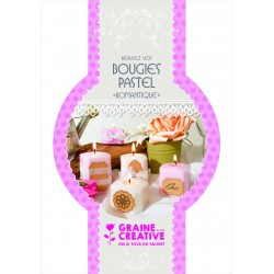 CANDLE MAKING - KIT  : ROMANTIC