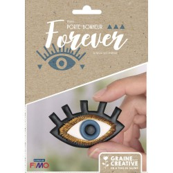 KIT JEWELRY LUCKY CHARM FOREVER / PIN EVIL EYE