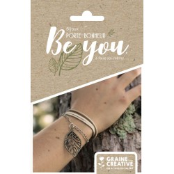 KIT JEWELRY LUCKY CHARM BE YOU / LEAF