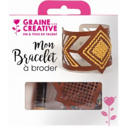 KIT JEWELRY EMBROIDER - BROWN LEATHER 03