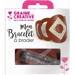 KIT JEWELRY EMBROIDER - BROWN LEATHER 04