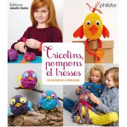 Book FR - Tricotins pompons et tresses