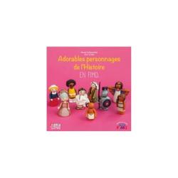 Book FR - Adorables personnages de l'histoire en fimo